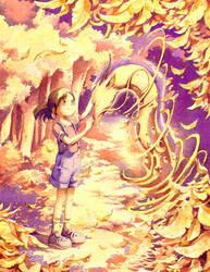 Golden Reunion by Moonshen