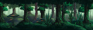 Forest game concept