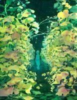 Young bridge by Moonshen