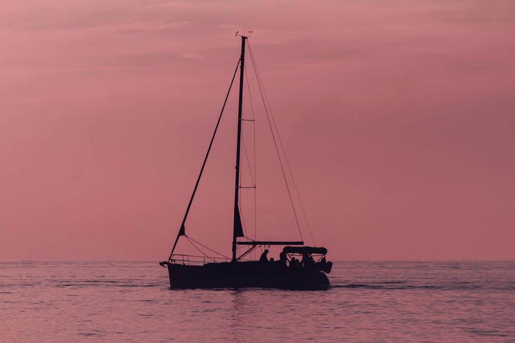 Sailing at Dusk by ViridianRoses