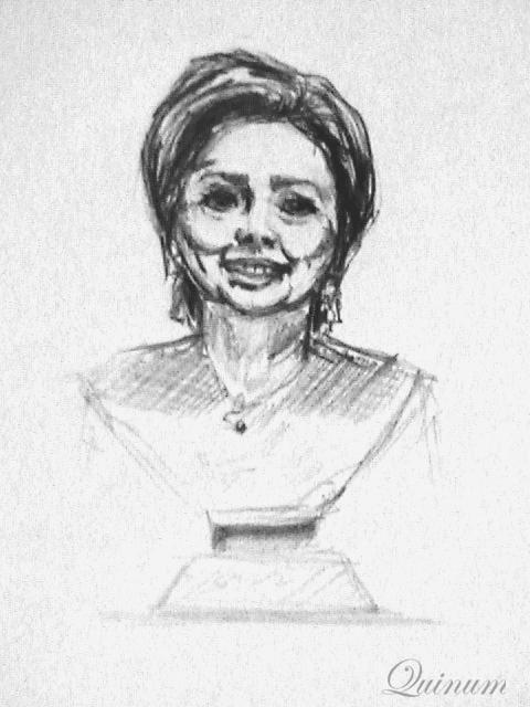 Hillary Rodham Clinton by quinum