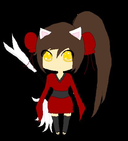 Fox Girl Ninja Warrior Neko by SherubiiGDFox Girl Warrior