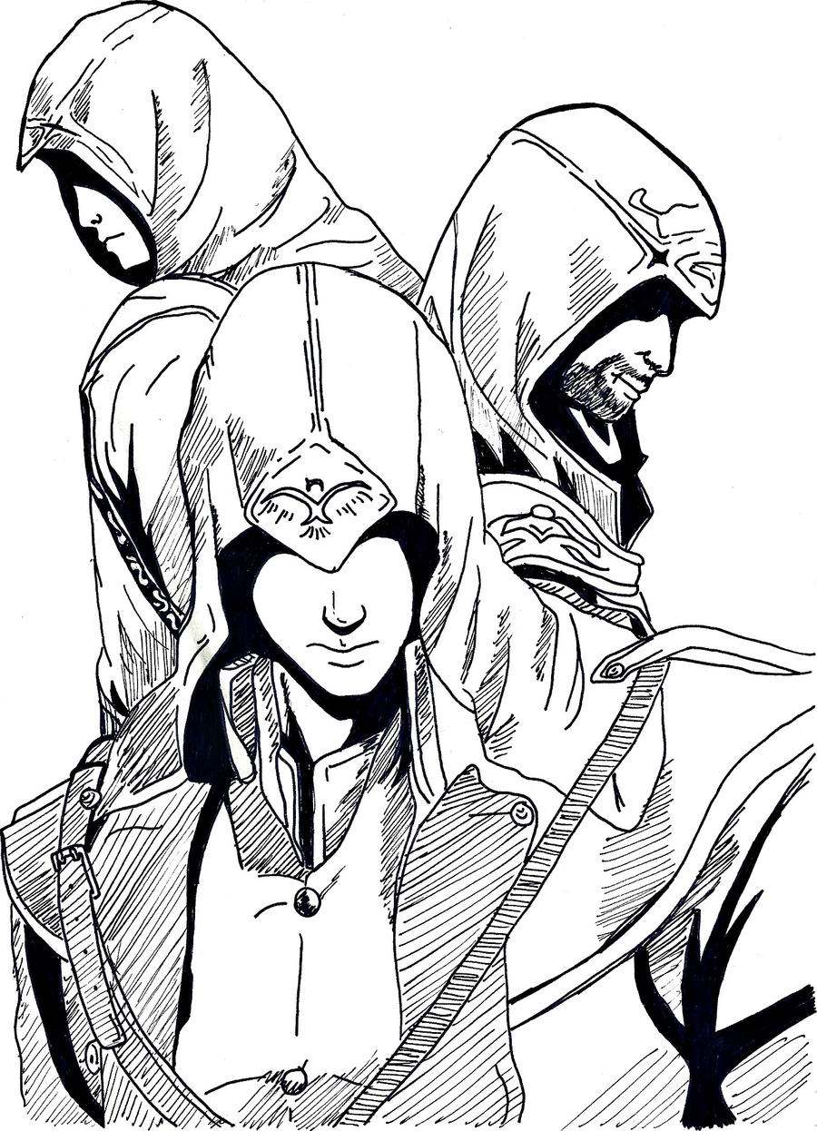 Assassin S Creed Pen Version By Lalcefrancese On Deviantart