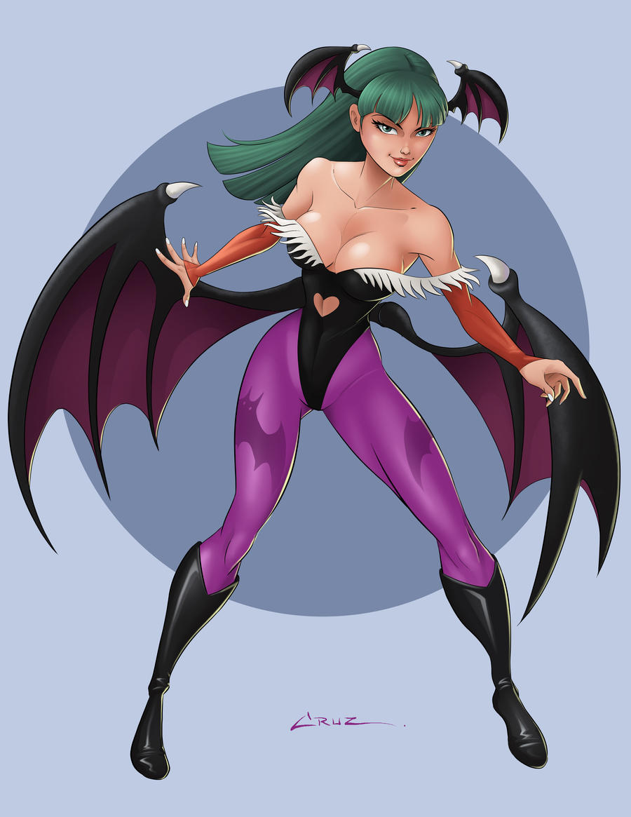 Morrigan by Cruuzetta