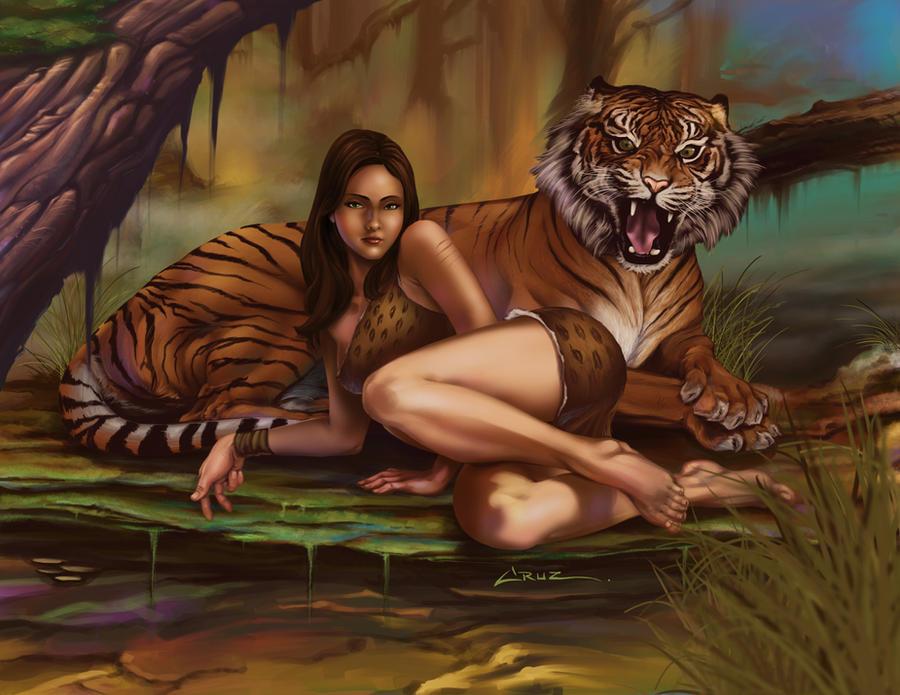 Jungle Girl by Cruuzetta