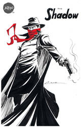 Inktober 015 The Shadow by Cruuzetta