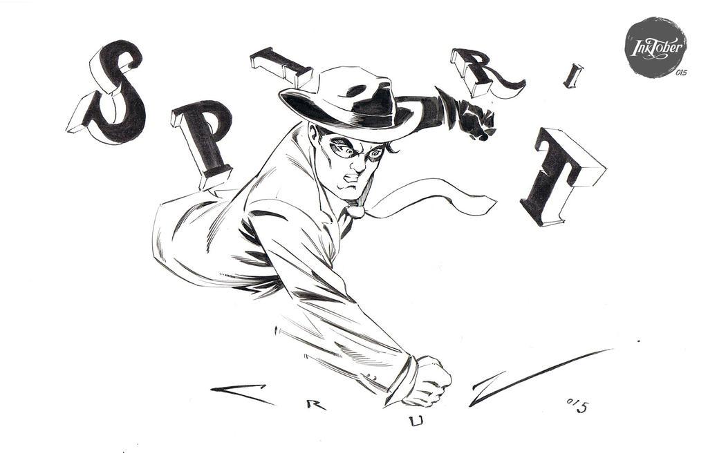 Inktober 015 The Spirit by Cruuzetta