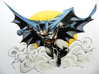 Batman Again by Cruuzetta