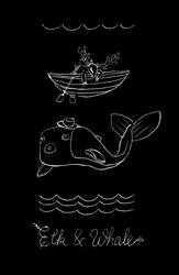 Elk and Whale by cova