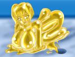 Slime Girl Golden