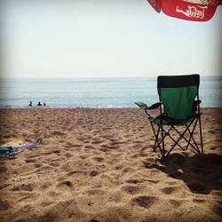 On the beach by anonnymous-fan