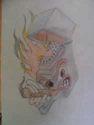 little sketch I did now by anonnymous-fan