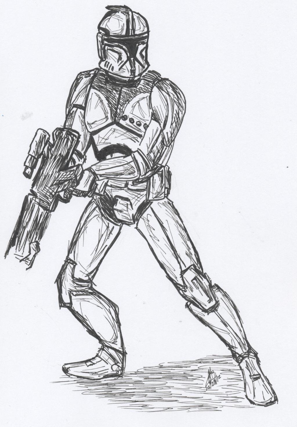 Sw Clone Commando Cc 0042 Or Commander 42 By Snowbunny91