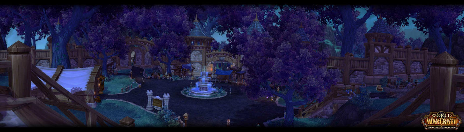 World of Warcraft Warlords of Draenor Garrrison by Meow-chi