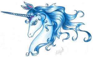 The Last Unicorn for Dor by thelastunicorn