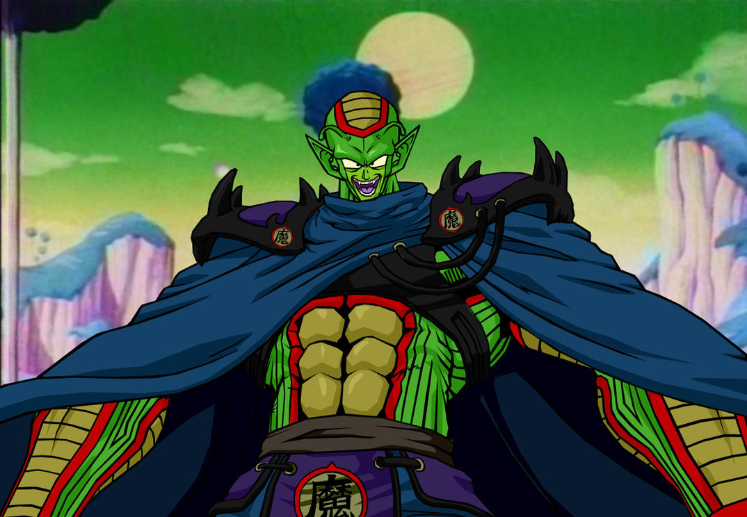OD King Piccolo color by Neoluce on DeviantArt