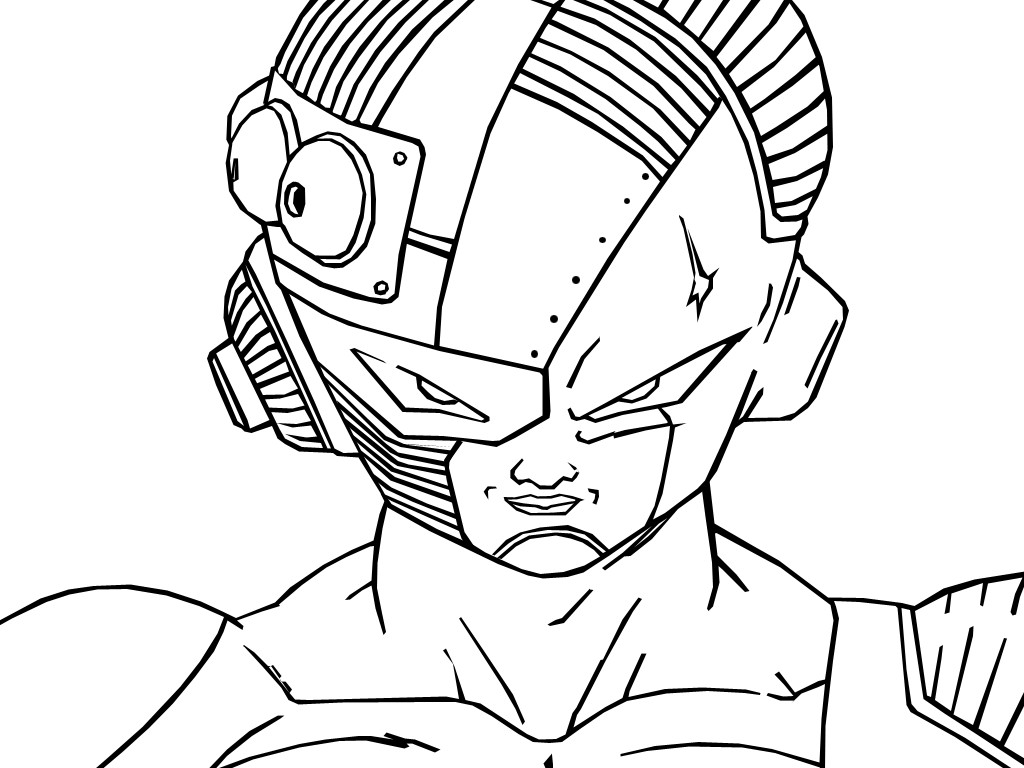 Mecha Frieza Free Coloring Pages
