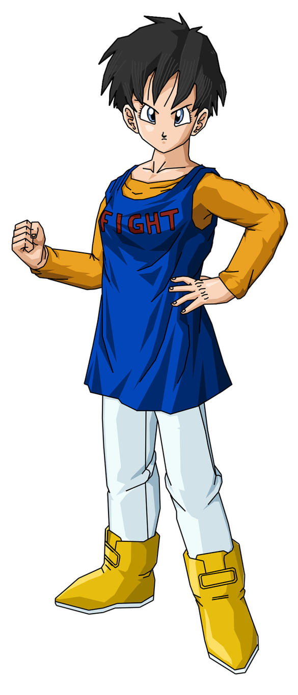 Chichi In Goku S Clothes