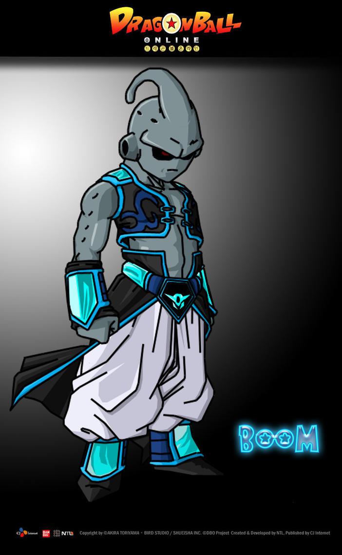 Dragonball Online Character Boom By Neoluce On Deviantart