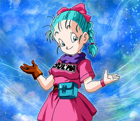 Bulma first few episodes. by Neoluce