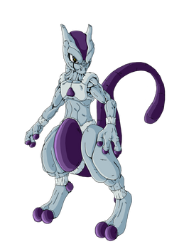 Mewtwo in dragonball