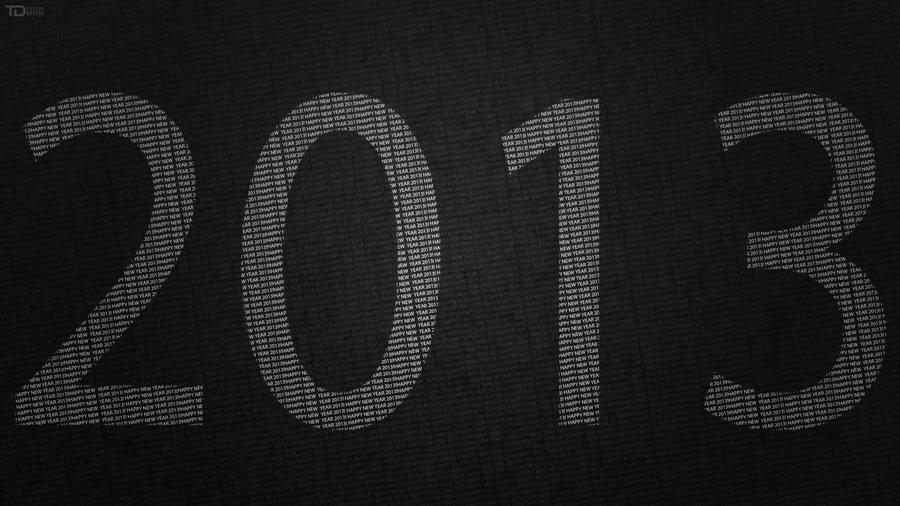 Happy New Year 2013 | Version 2 by TietzeDesign