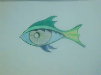 Fish Eye by sheppaja