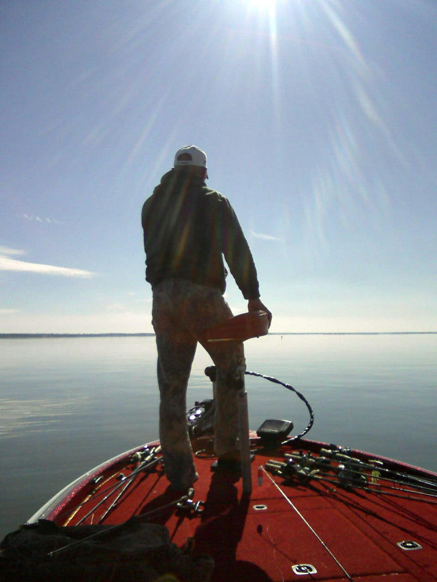 fishing for the sun by sheppaja