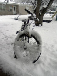 Snow Bike by sheppaja