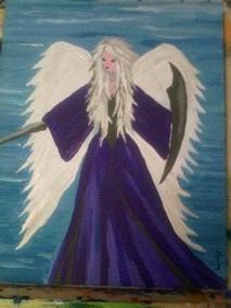 Angel by sheppaja