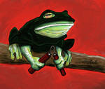 Ninja Frog by HaywireVisions