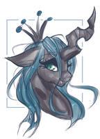 Queen Chrysalis by Lunathyst