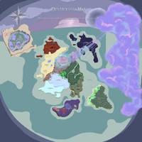 Dextroluma World Map by Lunathyst