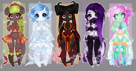 + Luna - Kawaii collab Dexettes! CLOSED by Lunathyst