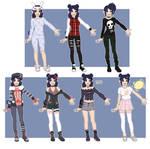 + Luna wardrobe +