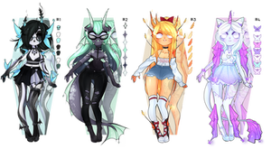 Dextro Adoptables: Mythical creatures CLOSED TY!