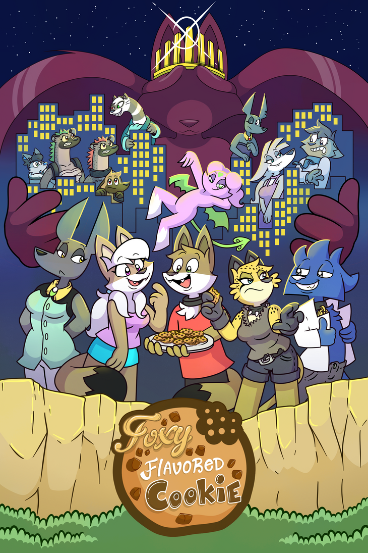 Foxy Flavored Cookie the comic series by El-Zorrito