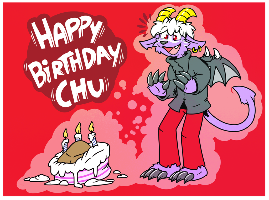 Happy Birthday Chu by El-Zorrito