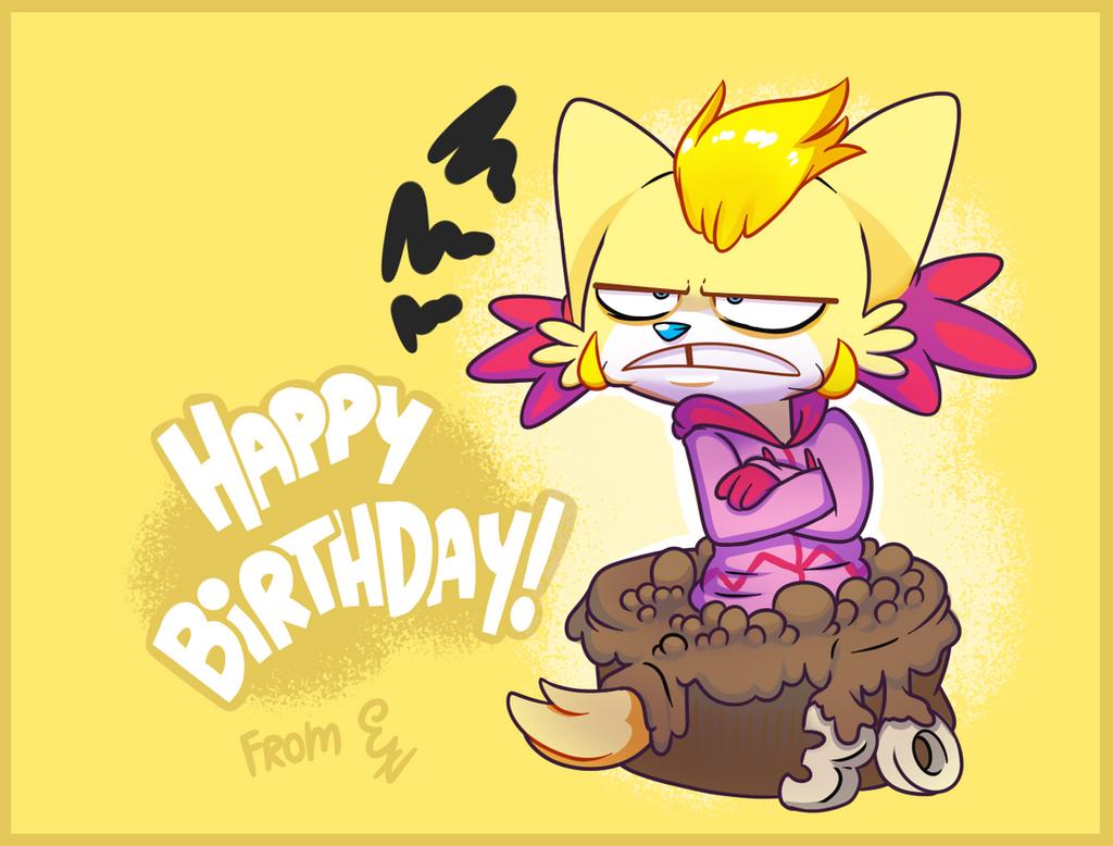 Cartoony Birthday Cake Png