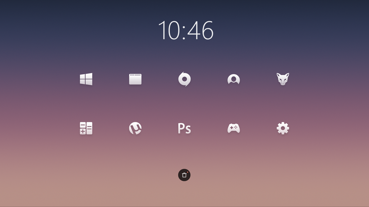 Windows 10 Home Screen by onehalfkiller
