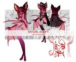 Bloody Batgirl  (adopt open) by LittleArtSis