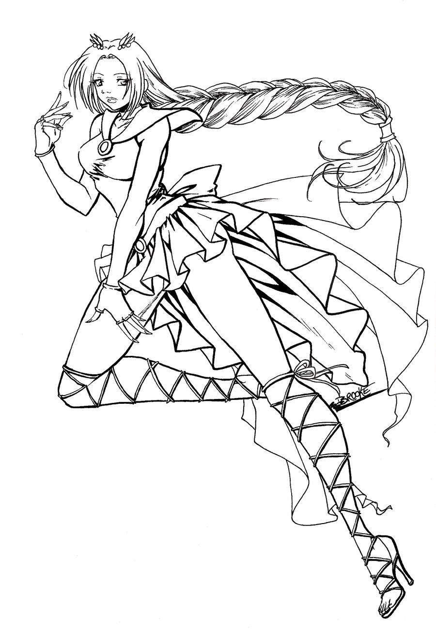 domo kun coloring pages - photo#27