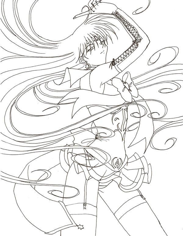 Millennium senshi sailor mars by tsuzukikun on deviantart for Sailor mars coloring pages