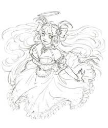 Patreon Sketch Reward - Lucia Frostine