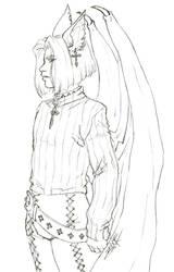 Patreon Sketch Reward - Thorne