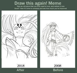 Majora Before / After