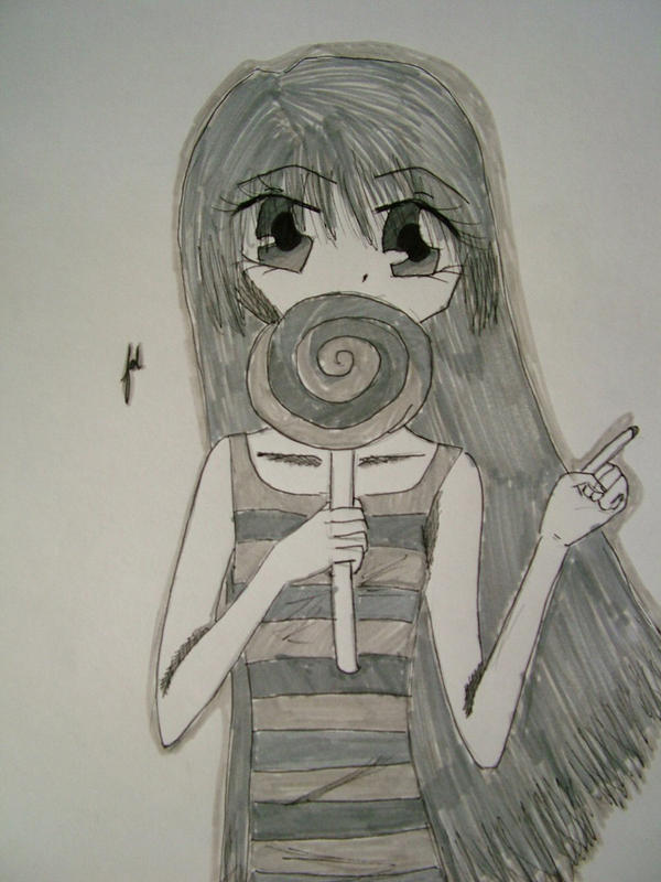 Lollipop Gal by teddy529