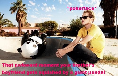 Pokerface Mikey by pika-chika