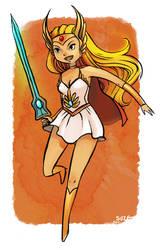 Princess of Power by pandasuze