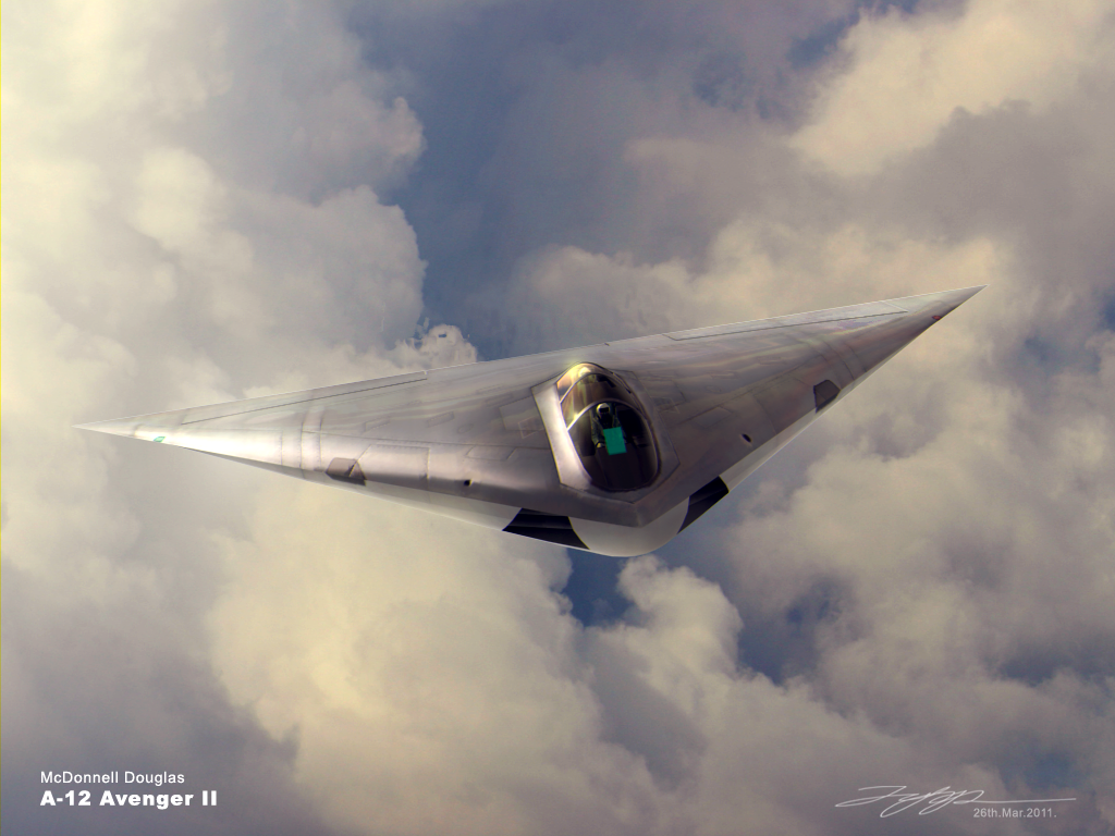 A-12 Avenger II by japphell on...